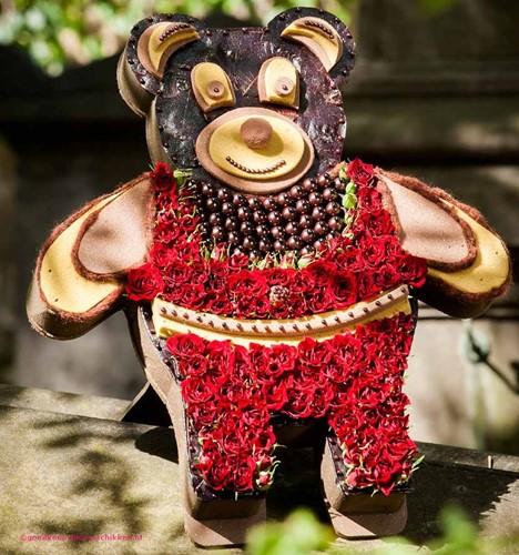 Oasis Teddybeer 48 cm. staand