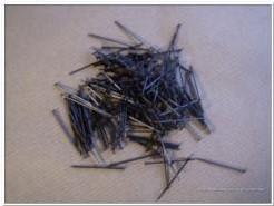 Steeknaalden, kopspeld zwart 25 gram kleinverpakking