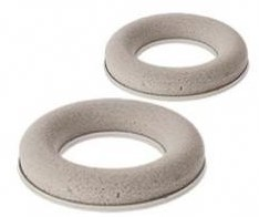 Droogschuim ring / krans  30cm. met kunststof ring