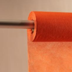 Colorflor short fibre 100cm.x60cm. orange (24) Colorflor short fibre 100