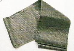 Wikkelband/ kranslint Groen 8 cm, per 5 m. Wikkelband