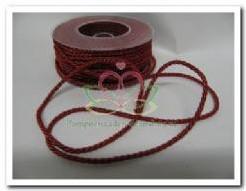 Lint Twist d. rood- koord 4 mm / meter Lint Twist d. r