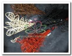 Gekrulde wilgentakken +/- 50 cm. /bos - zwart Gekrulde wilgentakken +/-