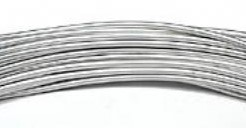 Alu flex wire alu/slvr 2 mm 2. 5meter Alu flex wire