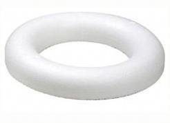 Oasis Styropor RING 20 platrond 20*4 cm. KORTING zie oms