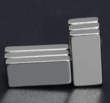 Blokmagneet LIGHT zwaardere magneetper set Corsagemagneten 20*10mm