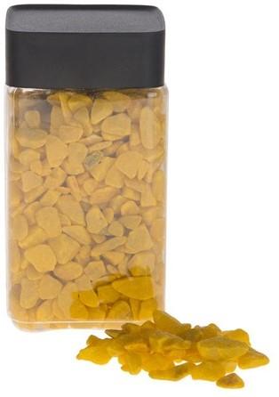 Deco rocks 9-13mm 600gram. Yellow Gele Steentjes 9-13 mm