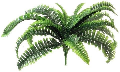 Varen 55cm LARGE BOSTON FERN BUSH GREEN Varen plant