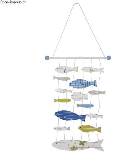 Maritiem DHZ Houten mobiles-set Vissen Maak het zelf