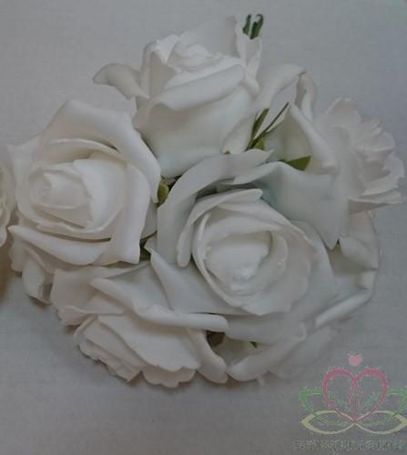 foam roos Emilia PUURWIT DOOS 42 new Puur wit