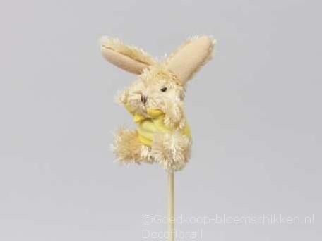 Bijsteker Haasjes konijntjes 10cm.  per stuk bijstekers