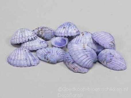 Tiger Chippy schelpen blauw, 500 gram