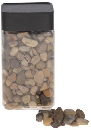 Natuursteen Natural Pebble 5-8mm 700gram. Mixed Stenen 5-8mm
