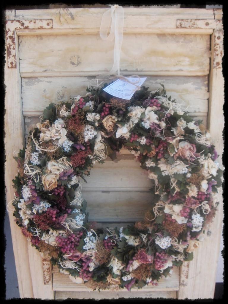 Sylvia - Besjeskrans met rozen