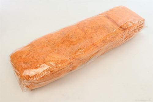 Sisal Apricot zak +/- 500gram. Cocos Fiber 500gr gekleurd
