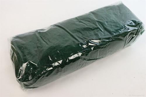 Sisal donkergroen zak +/- 500gram. Cocos Fiber 500gr gekleurd