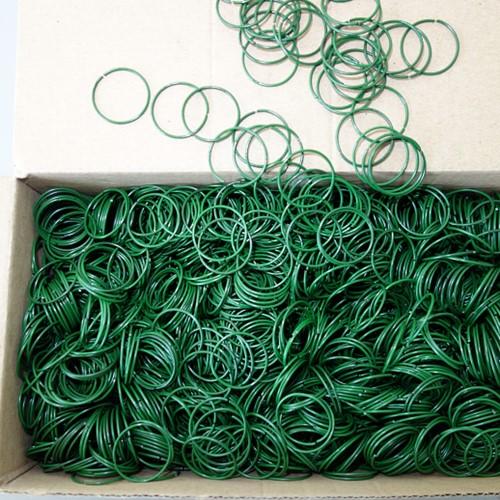 Anjerringen Groen doos 1 kg 19mm anjerringen