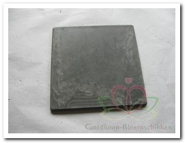 Loodlook plate klein 11*11 cm. KORTING zie omschrijving