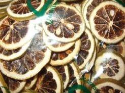 Citroenschijfjes 250 gr Citroenschijfje