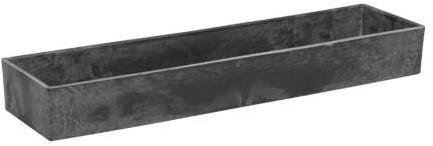 Tafeldeco Rectangle LARGE Basic Grey 42x10. 5x5cm. Loodlook
