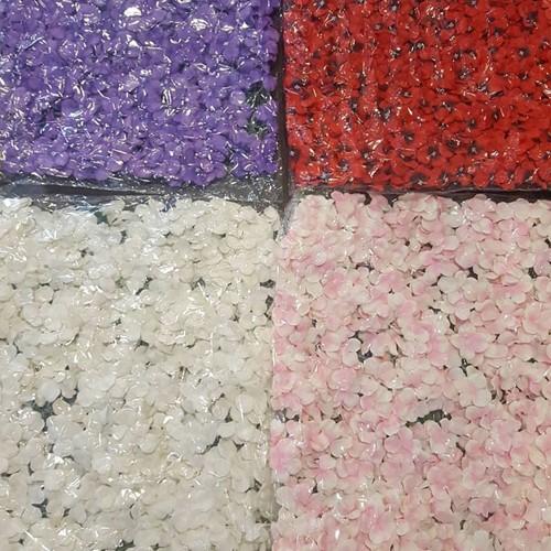 Actie Flowerwall Flower Wall 40*60cm. KanT EN KLAAR! - paars deep purple OP=OP