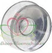 Double Suction, Dubbele zuignap voor glasvaasjes / set 30 st GlasLampvaasjes doos