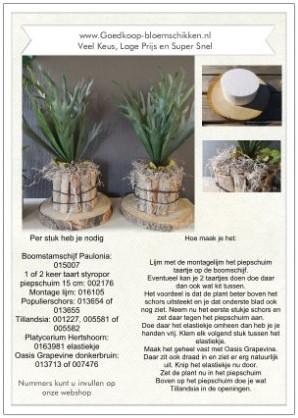 1 Werkbeschrijving sparen max 1 per klant Schorspot met bla - Schorspot met bladplant Werkbeschrijving