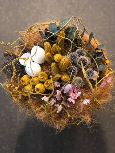 Droogbloemenpakket Rodanthe voor nestboeket droogbloemen