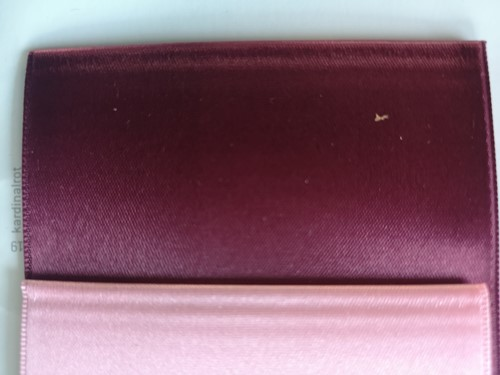 Lint voor Lintprinters Creative Ribbon 75mm KARDINAALSROOD 25m stevig kwaliteits lint Dubbelsatijn