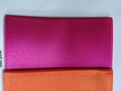 Lint voor Lintprinters Creative Ribbon 75mm FUCHSIA PINK 25m stevig kwaliteits lint Dubbelsatijn