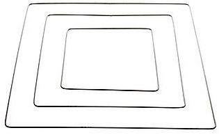 Metalen frame, creating frame 6mm dik BUC - 40 cm rond