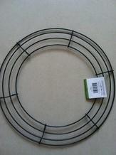 Metalen frame voor kransen rond 12'' = +/- 30 cm.' Metalen frame voor krans