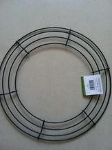 Metalen frame voor kransen rond 18'' = +/- 45 cm.' Metalen ring