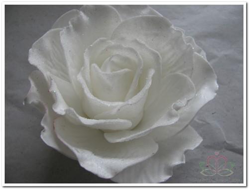 foam Rose Sophie 15cm. snow White Doos12 voordeelpak