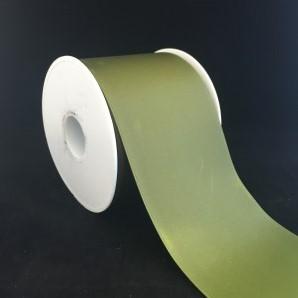 Lint voor Lintprinters Creative Ribbon 75mm OLIVE 25m stevig kwaliteits lint Dubbelsatijn