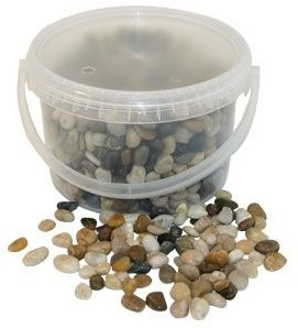 Natuursteentjes 4kg 5-8mm Mixed Stones Emmer gemengde steentjes