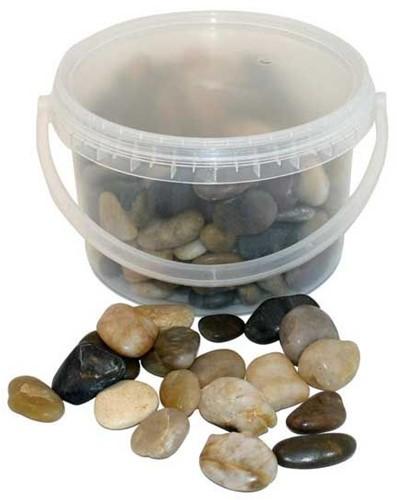 Natuurstenen 4kg 20-40mm Mixed Stones Emmer gemengde stenen